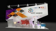 concept for НКС Media by Masha Bubnova, via Behance