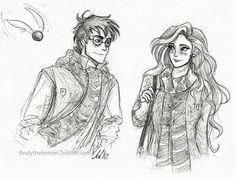James Potter & Lily Evans