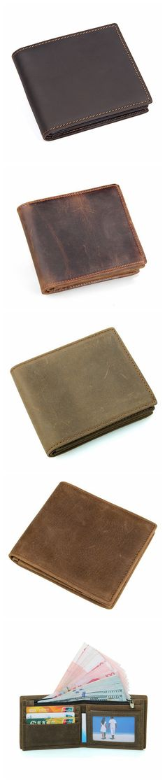 Handmade Leather Wallet, Wallet Cryptocurrency Wallet Rfid Man Short Wallet 8054 Model Dimensions: x / x Weight: lb / kg Color: Brown / Black / Dark Brown / Yellow Features: Handmade Leather Wallet, Leather Wallets, Cryptocurrency, Leather Purses