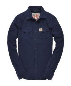 Superdry Paperweight Wale Shirt - Men's Shirts