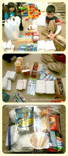 Giving to the Homeless ~ Homeless Blessing Bags - Meet Penny