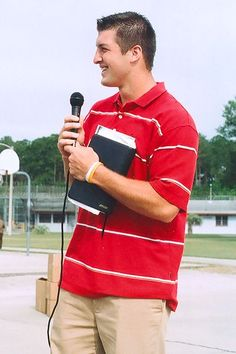 A guy dressed nicely and holding a bible can steal my heart in a matter of seconds... Haha. Tim Tebow<3
