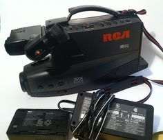 RCA CC439 Old School VHS Video Camera #RCA