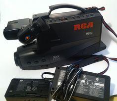 RCA CC439 Old School VHS Video Camera #RCA