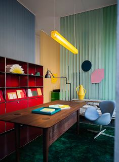 Spotti Happy office happy home during Milan Design Week 2013, Concept and set-up by Stidopepe   Yellowtrace.