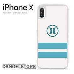 Hurley Soft Blue Strip For iPhone X