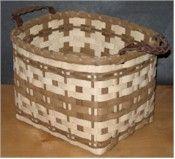 Smokey Storage Basket <br>By Jennifer Rhodes