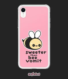 ae9a9d9f13 Funny iPhone Cases | Kawaii Phone Case | Bee Vomit | iPhone 6/6s, 6 Plus/6S  Plus, 7/8, 7 Plus/8 Plus