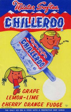 vintage Mister Softee Chilleroo frozen treats