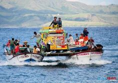 Inter-island transport for jeepney in Batanes Exotic Beaches, Tropical Beaches, Gma New, Batanes, Northern Island, Philippines Culture, Philippines Travel, Jeepney, Philippines