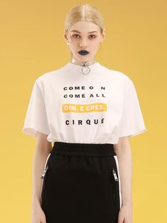 【DIM.E CRES】 COME ON. COME BASIC ALL T-SHIRTS | ANNAHL