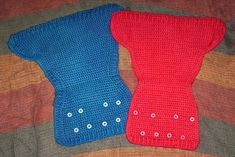 crochet wool diaper cover pattern w/snaps