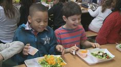 Buffalo receives a grant to serve their children fresher, healthier food!
