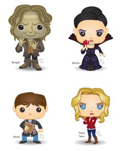 Pop! Once Upon a Time by CBeeProject on DeviantArt