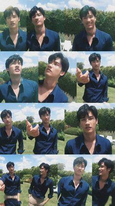 Bear Wallpaper, Thai Drama, My Boys, Dark Blue, Thailand, Boyfriend, Husband, My Favorite Things, Couples