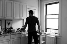 Men who cook & read prolifically.  David from Sweden