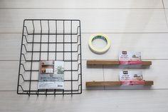 Diy Box, Room Interior, Dollar Stores, Magazine Rack, Diy And Crafts, Room Decor, Cleaning, Cabinet, Storage