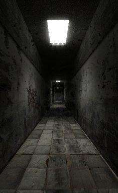 Lighting/feeling for set Dark Hallway