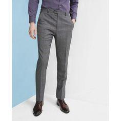 9fddd7edd189 TED BAKER Livingstone Flat Front Plaid Wool Trousers.  tedbaker  cloth