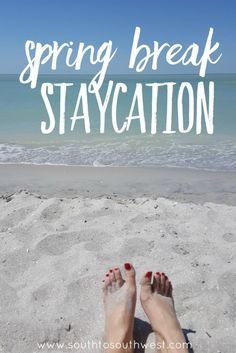 Read on for all the details of my Spring Break Staycation in SW Florida!