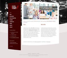 Projekt strony internetowej dla Studium YES które powstało w roku 1993 i jest najstarszą szkołą językową w regionie świebodzińskim oraz należy do najstarszych w województwie lubuskim... www.yes.swiebodzin.pl/