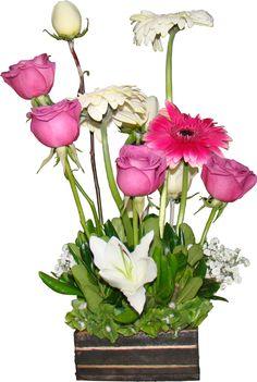 Glass Vase, Base, Plants, Home Decor, Flower Vases, Vases, Wood, Rose Arrangements, Floral Arrangements