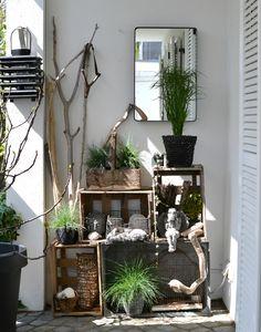 look pimp your room ein regal f r draussen deko pinterest drau en garten und regal. Black Bedroom Furniture Sets. Home Design Ideas