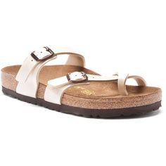 Birkenstock Women's Mayari Birko Sandals (125 CAD) ❤ liked on Polyvore