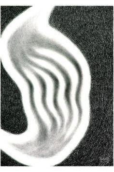 "Saatchi Art Artist Michelangelo Janigro; Drawing, ""Laceration "" #art"