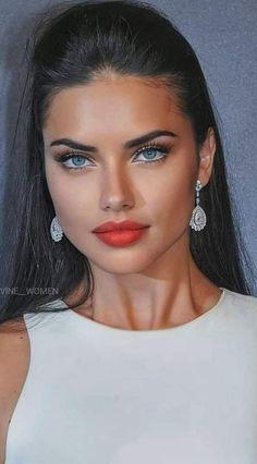 Lovely Eyes, Most Beautiful Faces, Stunning Eyes, Beautiful Models, Pretty Eyes, Gorgeous Women, Adriana Lima Style, Aesthetic Eyes, Flawless Face