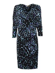 Biba blurred leopard print cowl jersey dress http://ow.ly/oYEL8 #Biba #houseoffraser