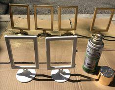 6e262ad2302 rustoleum specialty metallic gold spray paint on ikea tolsby frame Metallic  Gold Spray Paint