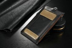 CaseMe Wallet Case Retro PU Leather Camping Bag With Carabiner Hook For iPhone 6/6s Plus Samsung HTC Sony Sale - Banggood.com