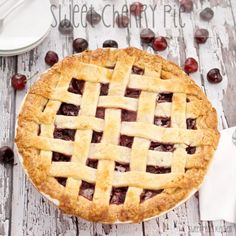 Sweet Cherry Pie {Sweet Pea's Kitchen}