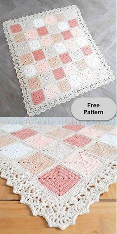 Crochet Simple, Crochet Diy, Crochet Amigurumi, Crochet Quilt, Amigurumi Patterns, Crochet Crafts, Crochet Projects, Crochet Ideas, Crochet Braid