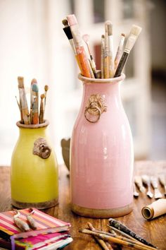 Using unique vessels contributes to the beauty of organization…..k