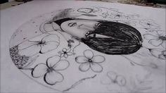 BTS Jimin-(Blod Sweat Tears) Drawing Challenge ^-^