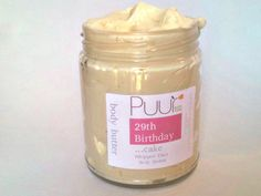 Whipped Shea Butter  Birthday Cake  VEGAN Body Butter  by PuurBody