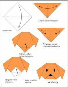 origami_köpek