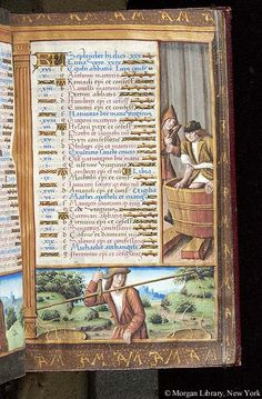 September - Book of Hours - France, Paris, between 1505 and 1510 - M.618 fol. 5r