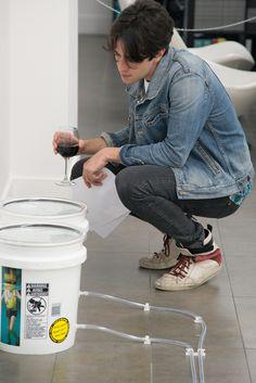 Egan Frantz, Tails Opening at Brand New Gallery, Milan May 2013