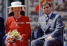 Andrew and Sarah in Toronto July Mom & I saw them that day. Sarah was right in front of us. Sarah Duchess Of York, Duke And Duchess, Eugenie Of York, Sarah Ferguson, Duke Of York, Princess Beatrice, Prince Andrew, Elizabeth Ii, British Royals