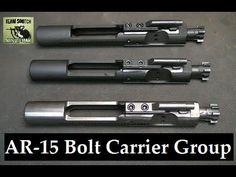 How to I.D. AR 15, M16 & Mil Spec Bolt Carrier Groups (+playlist)