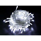 10m 33ft 100 LED Fairy String Lights for Outdoor Gardens Homes Christmas Wedding and Party Decoration White christmas deals week
