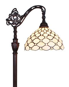 awesome Amora Lighting AM028FL12 Tiffany Style Jeweled Reading Floor Lamp 62 In