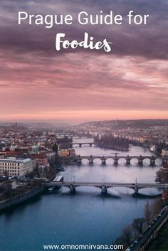 Prague has been on my wish list for so long! When we finally made it, I was so excited and fell in love. Check out this guide to Prague for foodies. It includes accommodation in Prague, daily itineraries for Prague, and the best restaurants to visit in Prague! You'll want to save this to your travel board.