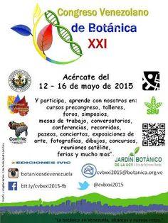 Congreso Venezolano de Botánica XXI