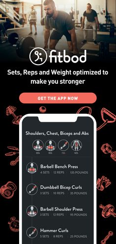 Sets, reps and weight optimized to make you stronger. Commit now with 3 free workouts 300 Workout, Workout Log, Lifting Workouts, At Home Workouts, Gym Workouts, Health And Physical Education, Physical Fitness, Weight Training, Weight Lifting