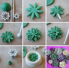 Цветы из из мастики. Секреты работы с мастикой