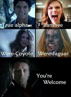 Teen Wolf - Peter Hale... THIS MADE ME REALIZE THAT PETER WAS THE ONE THAT DID ALL OF THIS! HE BIT SCOT, BIT LIDIA WHICH DIDNT TURN HER JUST LET HER POWERS COME OUT, MALIA IS HIS DAUGHTER AND HE TRIED TO KILL KATE BUT TURNED HER INTO A WERE JAGUAR! OMG